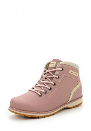 Ботинки Strobbs. Цвет: розовый