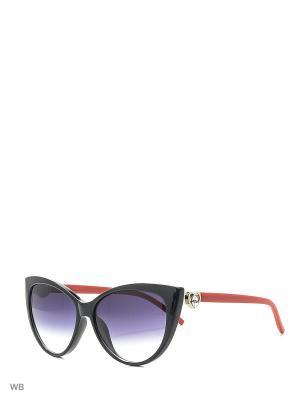 Солнцезащитные очки Vittorio Richi. Цвет: черный, зеленый, красный