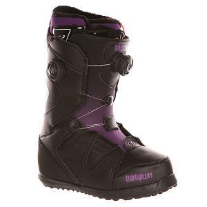 Ботинки для сноуборда женские  Z Binary Boa Black/Purp Thirty Two. Цвет: черный,фиолетовый