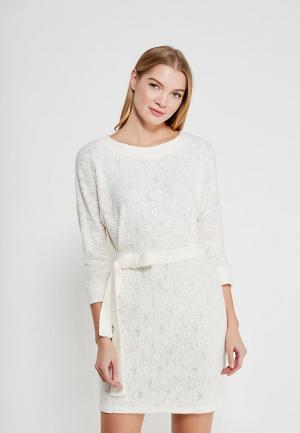 Платье MARI VERA. Цвет: белый