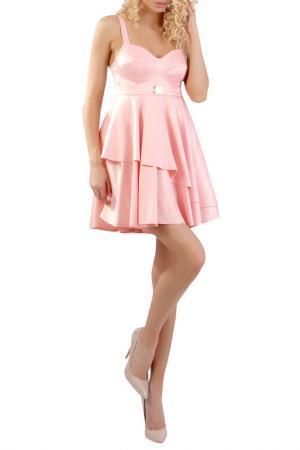 Платье JUNONA. Цвет: розовый
