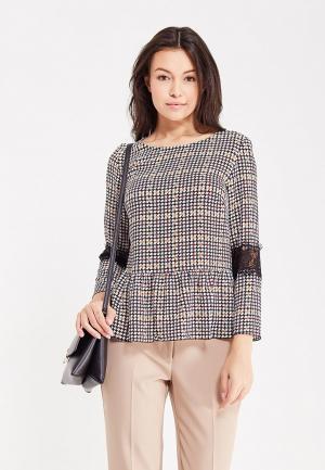 Блуза Zarina. Цвет: разноцветный