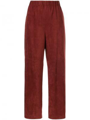 Укороченные брюки En Route. Цвет: красный