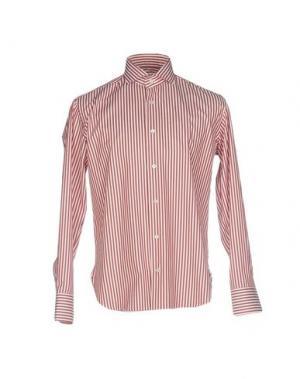 Pубашка DANOLIS. Цвет: кирпично-красный