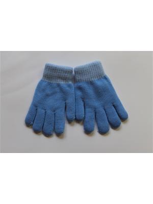 Перчатки Cascatto. Цвет: синий