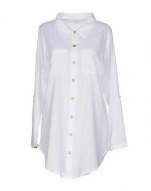 Pубашка HEIDI KLEIN. Цвет: белый