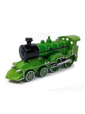 Поезд Азбука Тойс. Цвет: зеленый