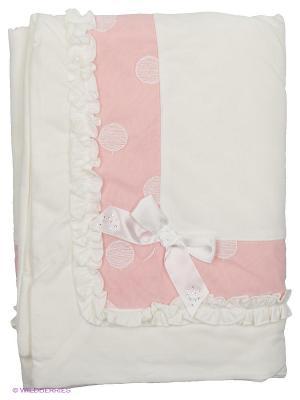 Одеяло CEREMONY. Цвет: молочный, бледно-розовый