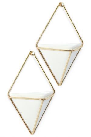 Декор для стен UMBRA. Цвет: белый, латунь