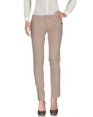 Повседневные брюки REFRIGUE. Цвет: бежевый