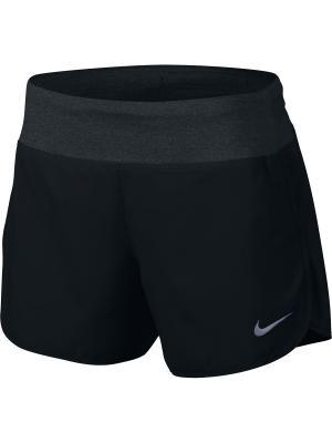 Шорты W NK FLX SHORT 5IN RIVAL Nike. Цвет: черный