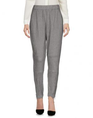 Повседневные брюки MINIMUM. Цвет: серый
