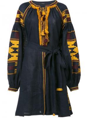 Платье Macedonia Vita Kin. Цвет: синий