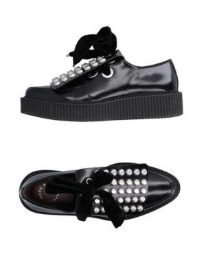 Обувь на шнурках MARC BY JACOBS. Цвет: черный