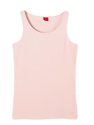 Топ S.OLIVER. Цвет: розовый