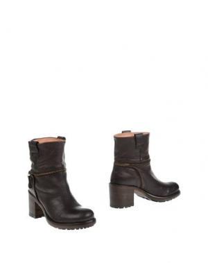 Полусапоги и высокие ботинки CORVARI HISTORY. Цвет: темно-коричневый