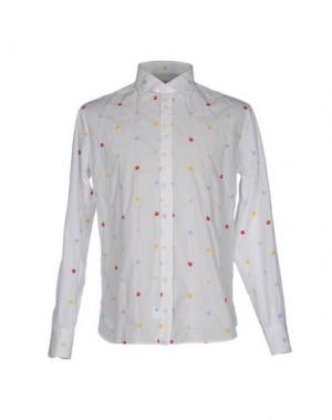 Pубашка FRADI. Цвет: белый