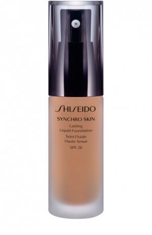 Устойчивое тональное средство Synchro Skin, оттенок Neutral 4 Shiseido. Цвет: бесцветный
