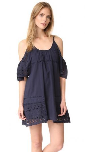 Платье Nancy dRA. Цвет: темно-синий mission