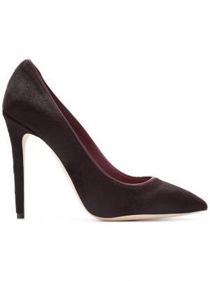 Туфли-лодочки Olgana. Цвет: красный