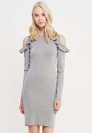 Платье By Swan. Цвет: серебряный