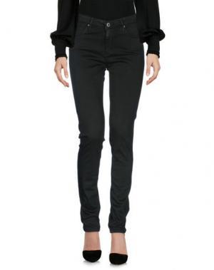 Повседневные брюки AG ADRIANO GOLDSCHMIED. Цвет: темно-зеленый