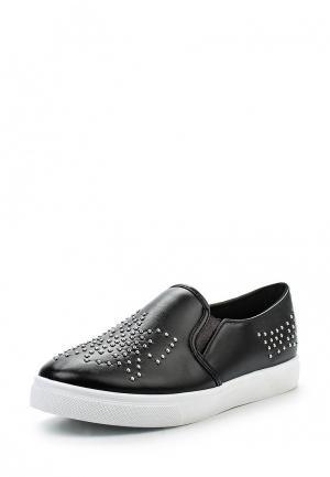 Слипоны WS Shoes. Цвет: черный