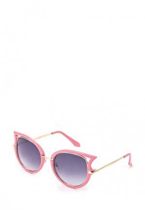 Очки солнцезащитные Kawaii Factory. Цвет: розовый