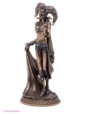 Статуэтка Леди Арлекина Veronese. Цвет: бронзовый