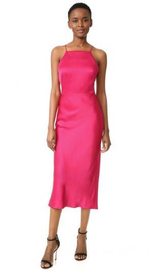 Коктейльное платье без рукавов Jason Wu. Цвет: малиновый