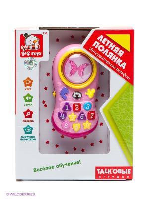 Развивающая игрушка Телефон S-S. Цвет: розовый