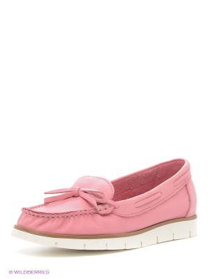 Мокасины Pixy. Цвет: розовый