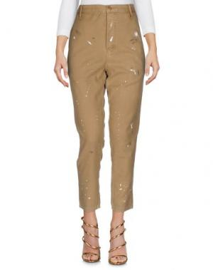 Джинсовые брюки THE GREAT.. Цвет: бежевый