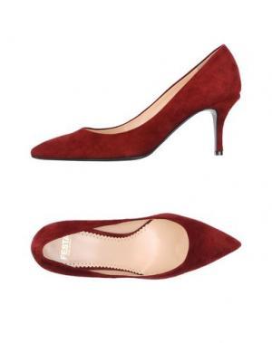 Туфли FESTA Milano. Цвет: красно-коричневый