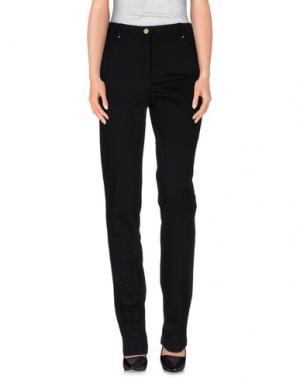 Повседневные брюки CALALUNA. Цвет: черный