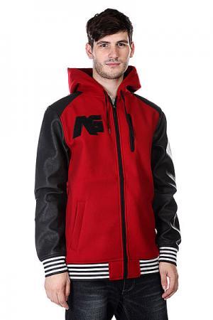 Куртка  Conference Flzp Red Rock Analog. Цвет: красный,черный