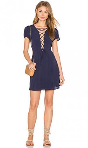 Платье phillips Privacy Please. Цвет: синий
