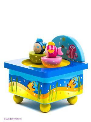 Волшебная коробочка Подводный мир MAPACHA. Цвет: синий, желтый