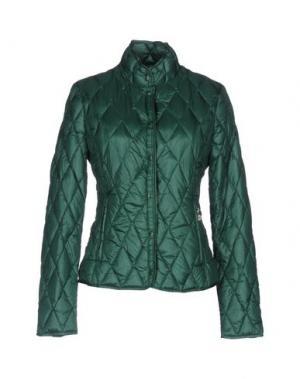 Пуховик BPD BE PROUD OF THIS DRESS. Цвет: зеленый