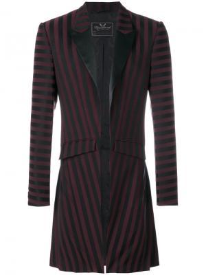 Приталенный пиджак-смокинг Unconditional. Цвет: чёрный