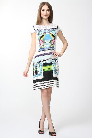 Платье Mary Katrantzou. Цвет: белый
