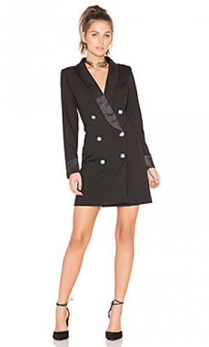Платье блейзер palermo LIONESS. Цвет: черный