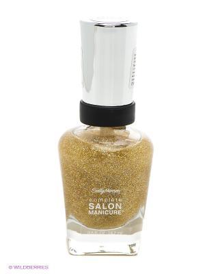 Лак для ногтей, тон 854 SALLY HANSEN. Цвет: золотистый