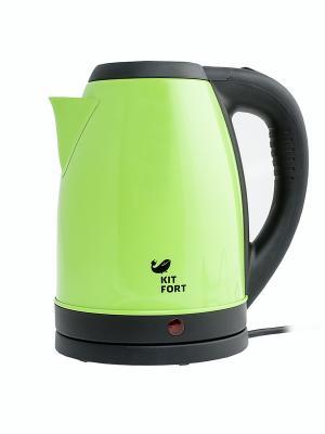 Чайник КТ-602-1 2,0 л. 1500 Вт Kitfort. Цвет: зеленый