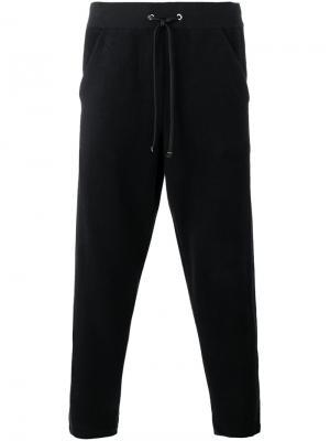 Спортивные брюки на шнурке Lot78. Цвет: чёрный