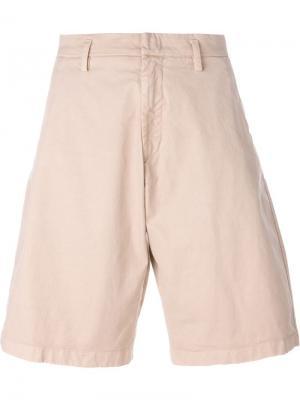 Джинсовые шорты Nº21. Цвет: телесный