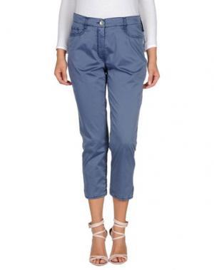 Повседневные брюки GARDEUR. Цвет: грифельно-синий