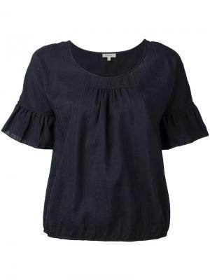 Блузка Harlem Bellerose. Цвет: чёрный