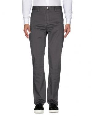 Повседневные брюки WESC. Цвет: серый