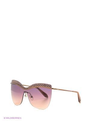 Солнцезащитные очки BLD 1618 101 Baldinini. Цвет: коричневый